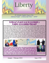 Eritrea Liberty Magazine Issue No. 55