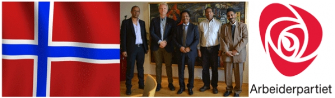 EPDP Delegation Asks Norwegian Party to Support Eritrean Pro-Democracy Forces