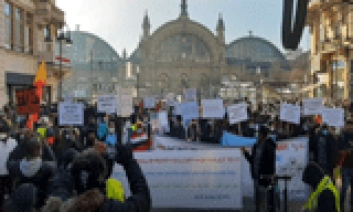 Frankfurt Demonstration for peace and Dialogue