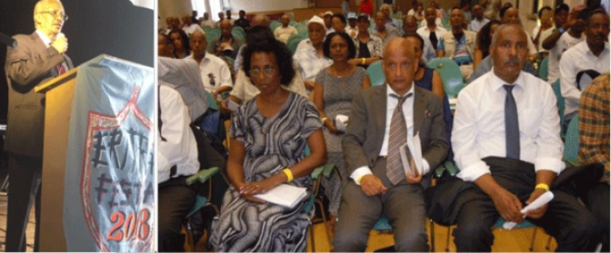 At Eritrea Festival 2018, EPDP Chairman Urges  Compatriots to Work Hard for National Salvation