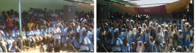 Eritrean Refugee School at Wad-Sherifey   Ends 33rd Academic Year with Success