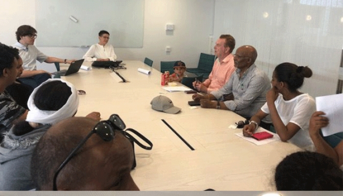 Eritrean-Swedish Cultural Group  Meets the Mayor of Gothenburg