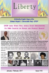 Eritrea Liberty Magazine Issue No. 43
