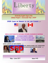 Eritrea Liberty Magazine Issue 45