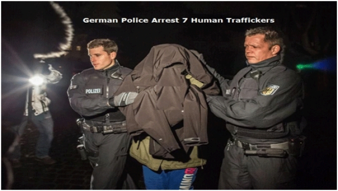 German Police Arrest 7 Eritrean Human Traffickers