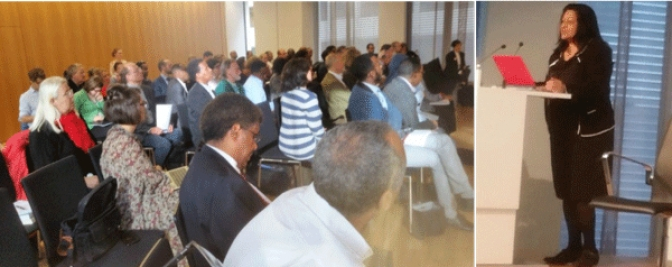 Brussels Conference on Eritrean Refugee Crisis Addressed by Ms Keetharuth & Other Experts